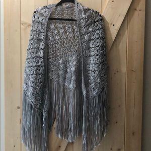 Silver shawl - One size